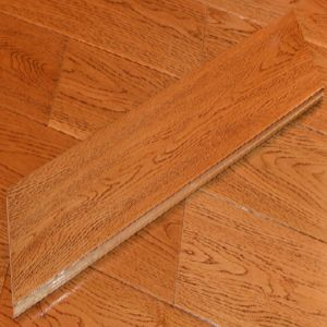 Middle Size Laminated Wood Flooring pictures & photos
