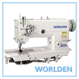 Wd-842 Double Needle Sewing Machine pictures & photos
