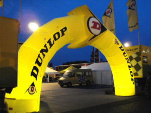 Dual Inflatable Welcome Arch for Advertising pictures & photos