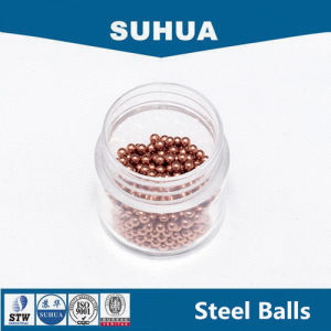G100 9.5mm Copper Ball for Bearing Solid Sphere pictures & photos