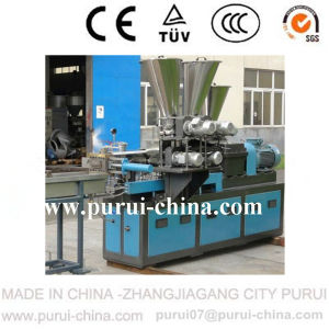 Lab Plastic Granules Machine Parallel Co-Rotating Twin Screw Extruder pictures & photos