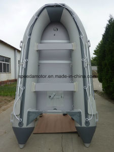 360 Rubber PVC Foldable Inflatable Motor Boat pictures & photos