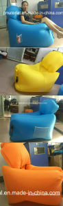 Inflatable Sleeping Air Bag Bed Air Chair Bed Designs Lamzac Rocca Laybag Air Inflatable Lounge Air Sofa pictures & photos