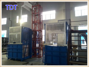 Cheap Tdt Frequency Conversion Building Hoist (SC200/200G) pictures & photos