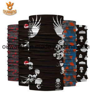 Promotional Elastic Motorcycle Face Mask Custom Printing Logo Azo Free Tube Bandana pictures & photos