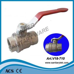 Male-Female Full Bore Ball Valve (V18-611) pictures & photos