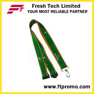 China Cheap Polyester Lanyard with Logo pictures & photos