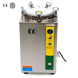 Vertical Steam Sterilizer Flash Autoclave For Tattoo Beauty Salon Surgical Nail Tool