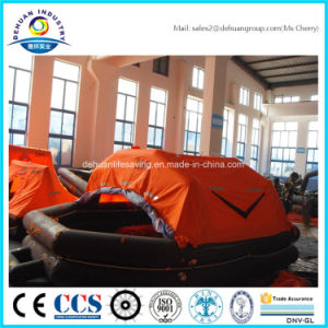 Throw-Over Type 25 Person Inflatable Liferaft (DH-028)