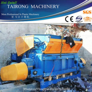 High Quality Single/Double Shaft Waste Plastic Shredder Machine pictures & photos