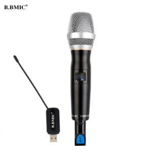 USB Wireless Microphone Home Computer and TV Meeting Outdoor Stereo Onboard Karaoke Microphone U Wireless Microphone