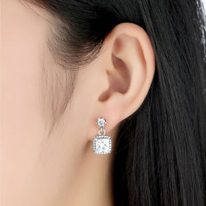 CZ 925 Sterling Silver Earrings pictures & photos