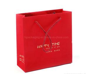 Customized Logo Silver Hot-St&ing Logo Luxury Paper Gift Bags Wholesale Paper Bag Printing  sc 1 st  Chongqing Hongjin Printing Co. Ltd. & China Customized Logo Silver Hot-Stamping Logo Luxury Paper Gift ...