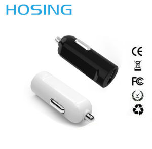 Universal Black White 1 USB Travel Charger Car Charger for Mobile Phone pictures & photos