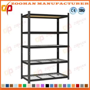 Adjustable Chrome Metal Wine Rack Storage Garage Wire Shelving (Zhw123) pictures & photos