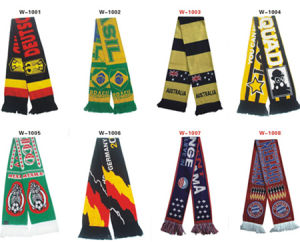 Knitted Fan Club Scarves (HMCK)