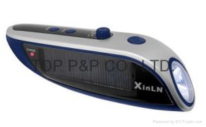 Solar Charger & Torch (XLN-811)