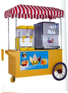 Juice Dispenser+Ice Cream Machine/Combination Mobile Vehicle (QCE-F06) pictures & photos