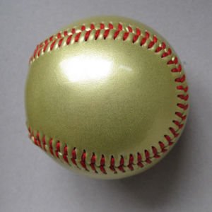 Shinning Baseball, Metallic PVC Cover, for Promotion (B06125) pictures & photos