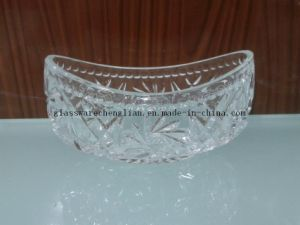 with Elegant Design of Glass Fruit Bowl (W-HG02) pictures & photos