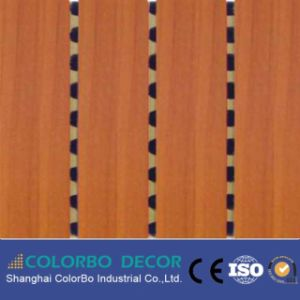 Grooved Design Wooden Timber Acoustic Panel pictures & photos
