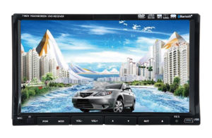 Double DIN Touch Screen Car GPS (7298)