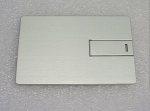 Newest Metal Credit Card USB Drive (OM-M520) pictures & photos