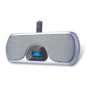 Notebook Computer Sound Bar Portable Speaker with LCD-1 pictures & photos