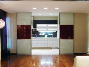 Partition Door (Kitchen) Sliding Door & China Partition Door (Kitchen) Sliding Door - China Partition Door ...