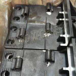Railway Brace Plate/Steel Casting Brace Plate pictures & photos