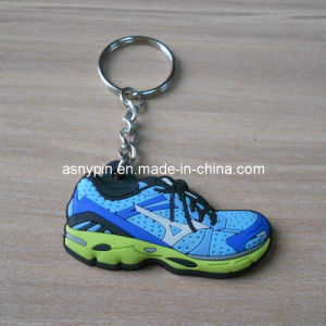 Silicone Sneaker Shoe Key Holder Stock pictures & photos