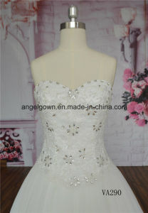 Plus Size Wedding Dress Ball Gown Sweetheart Bridal Dress pictures & photos