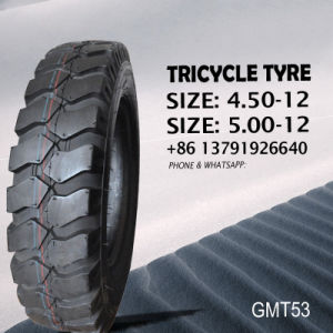 Tricycle Tyre/Tire and Tube (butyl& rubber inner tube) 4.50-12 5.00-12 Tyre