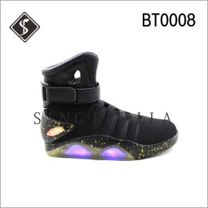 LED Boots with Colorful Light Outsole, Casua Lightl Boots, Sport Shoes