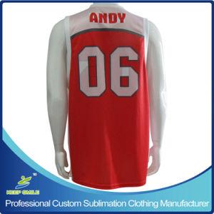 1f278395e52 Custom Made Full Sublimation Premium Basketball Single Ply Reversible Vest