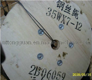 Non-Rotating Steel Wire Rope 35W*7; pictures & photos