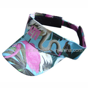 Colorful Printed Cloth Embroidery Leisure Sun Visor (TMV2156) pictures & photos