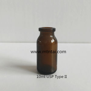 10ml Amber Glass Vials with Sulfuration pictures & photos