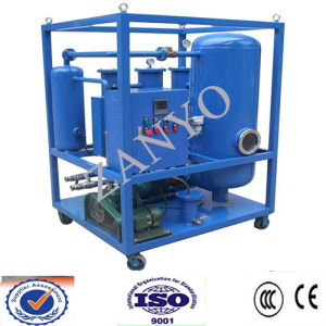 High Efficient Single-Stage Vacuum Insulating Oil Purifier