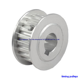Timing Pulley with Aluminium Double Flanges