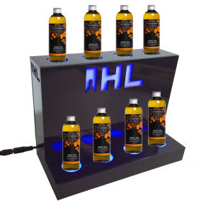 Acrylic LED Display Stand for Body Oil