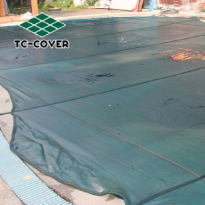 Safety Mesh Swimming Pool Cover for Kids pictures & photos