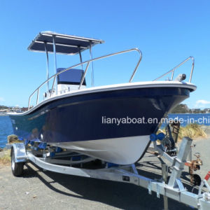 Liya 19ft Fiberglass Boat Speed Fishing Boat Panga Boat Manufacturer pictures & photos