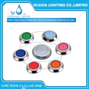 IP68 Waterproof 12V Surface Mounted LED Swimming Pool Light for Underwater pictures & photos