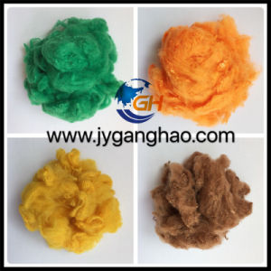 Colored Polyester Staple Fiber PSF pictures & photos