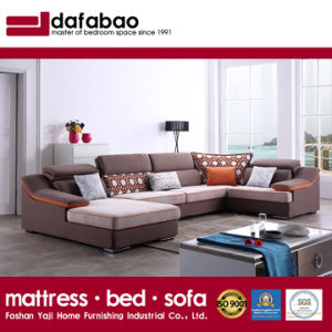 China Modern Design Sectional Sofa With Linen High Quality Fabric