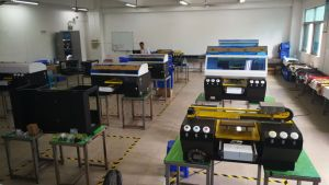 Dual Heads Textile Printing Machine Direct to Garment Printer pictures & photos