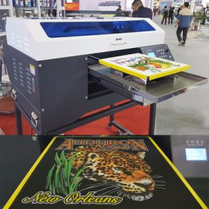 T-Shirt Wood Cotton Textile Printing Machine Direct to Garment Printer pictures & photos