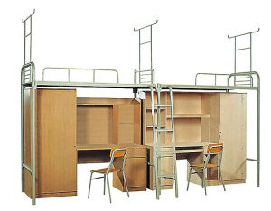 Simple Design School Furniture Student Bed (SF-12B) pictures & photos