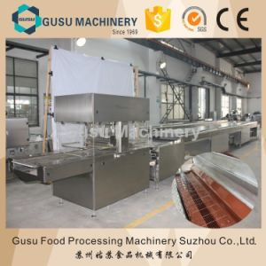 Stainless Steel Chocolate Enrober Bar Production Machine pictures & photos